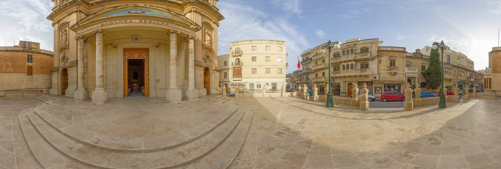 Gzira Parish Church Panorama