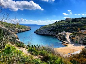 Mgarr ix-Xini beach Gozo Island
