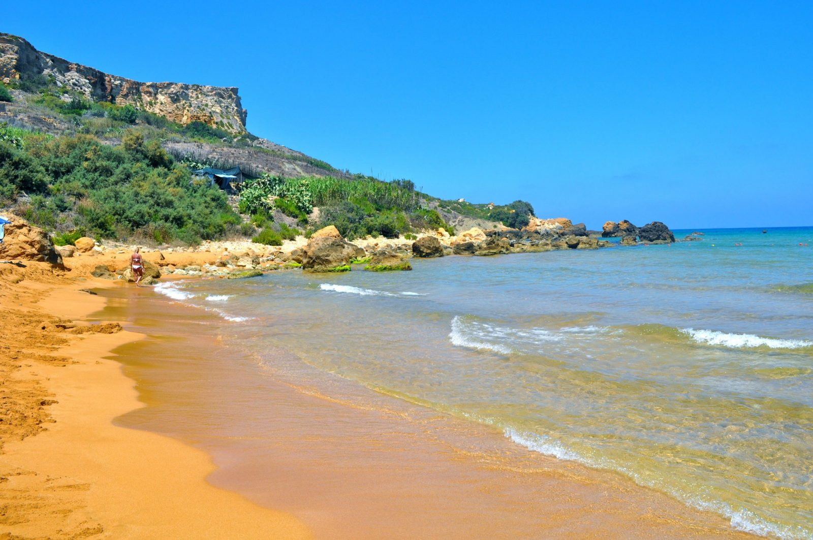Gozo Beaches and How to Get There