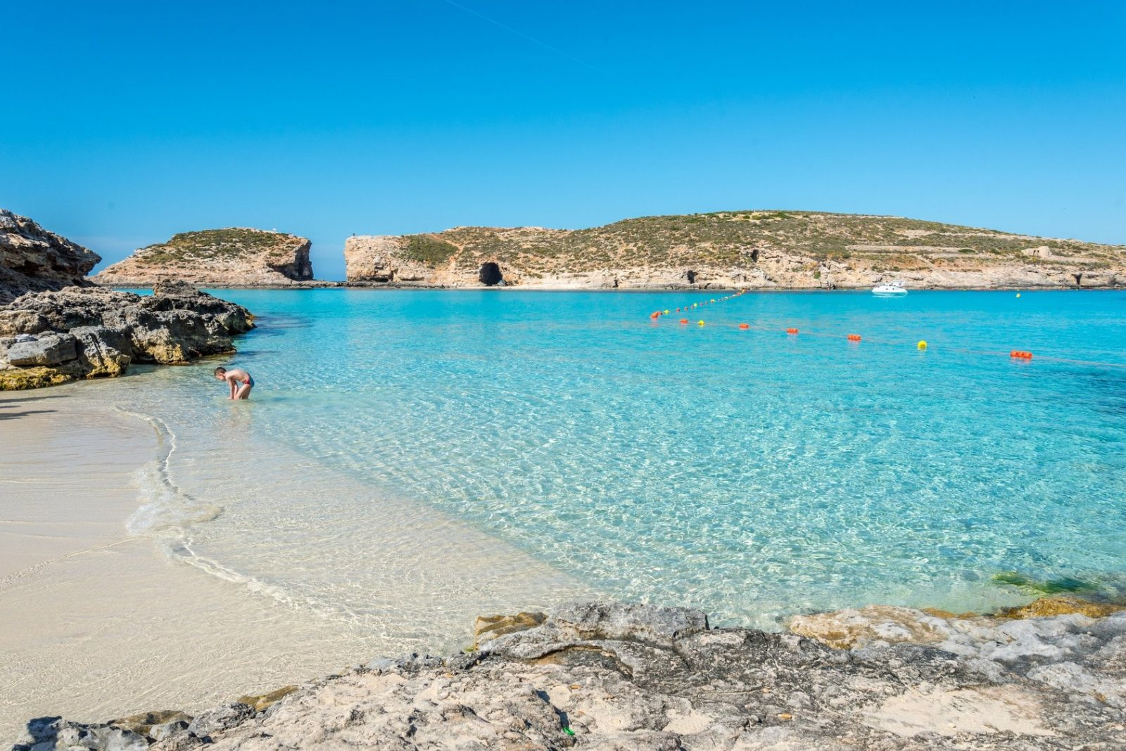 Experience the magic of the Blue Lagoon on Comino Island