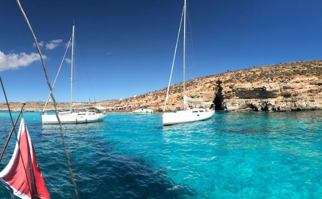 Blue Lagoon sailing boats