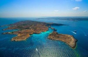 Blue Lagoon top view