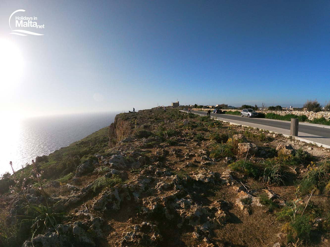 Dingli Cliffs road