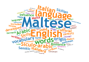 Background Maltese language