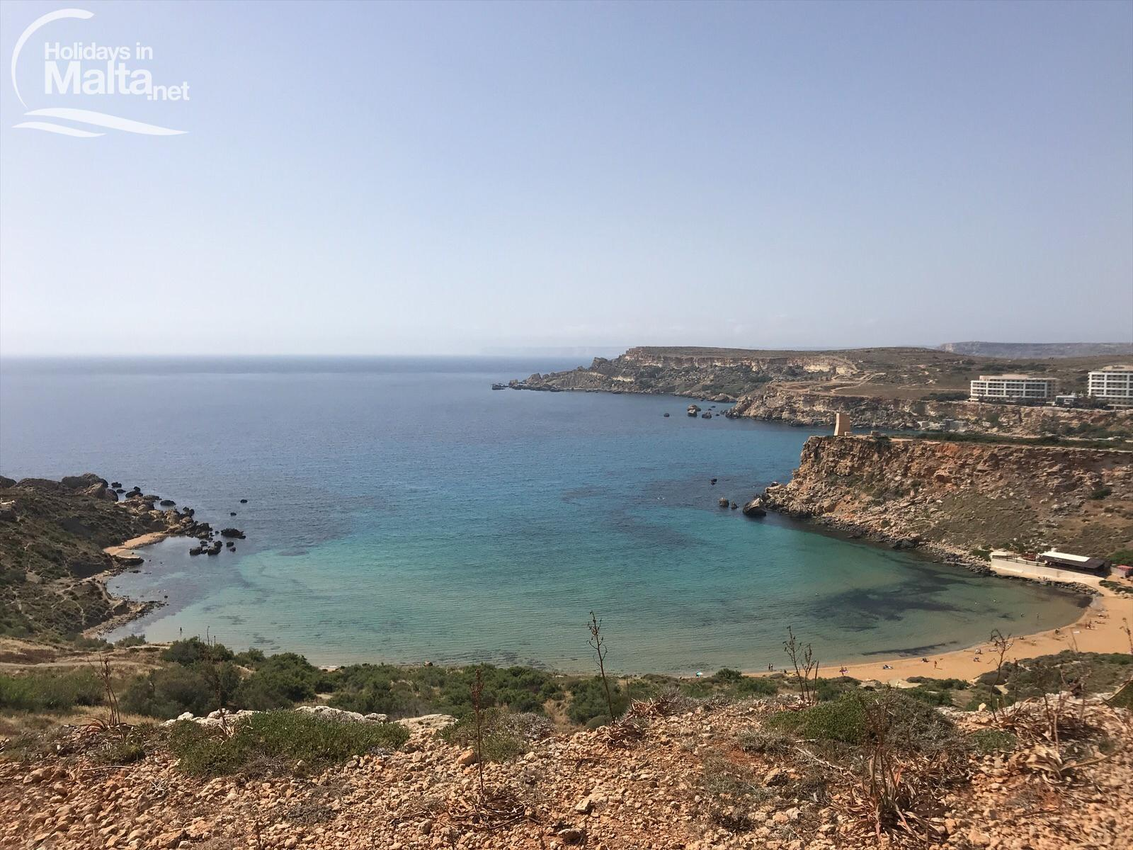 Għajn Tuffieħa: The Most Beautiful Beach of Malta